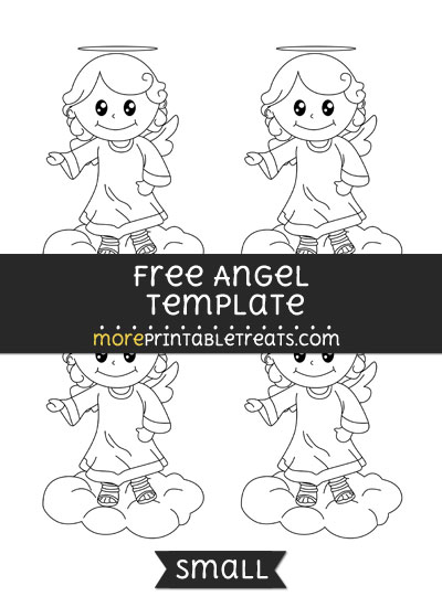 Free Angel Template - Small