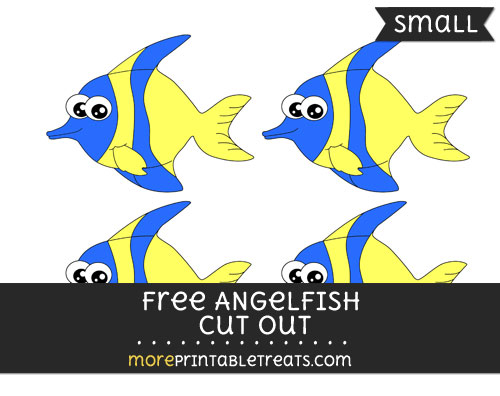 Free Angelfish Cut Out -Small
