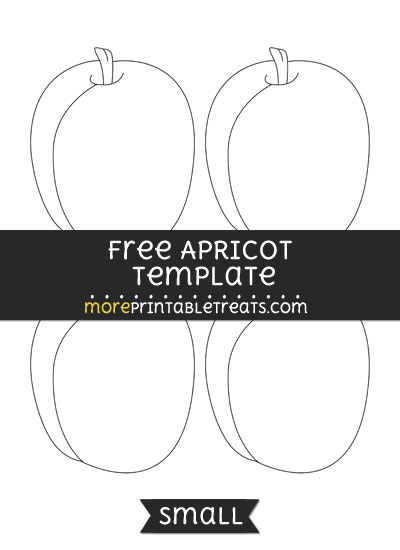 Free Apricot Template - Small