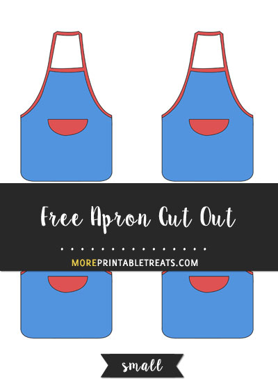 Free Apron Cut Out - Small
