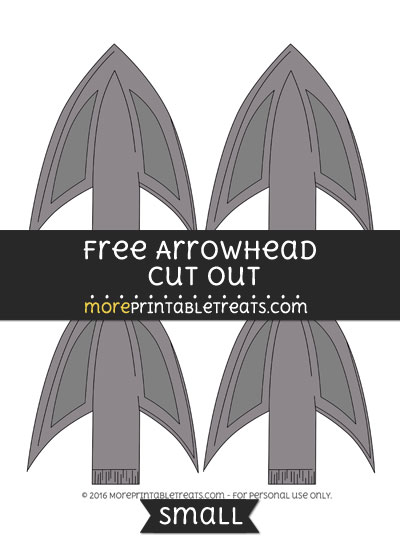 Free Arrowhead Cut Out -Small