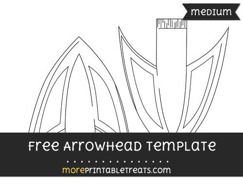 Free Arrowhead Template - Medium