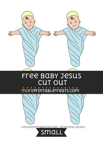 Free Baby Jesus Cut Out -Small