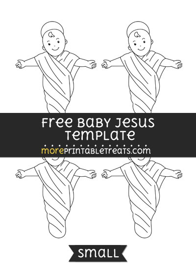 Free Baby Jesus Template - Small