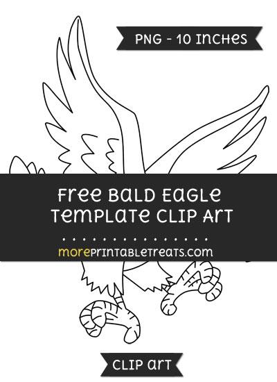 Free Bald Eagle Template - Clipart