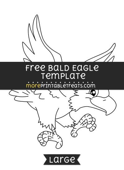 Free Bald Eagle Template - Large
