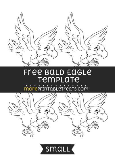 Free Bald Eagle Template - Small