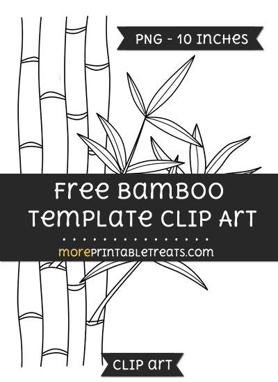 Free Bamboo Template - Clipart