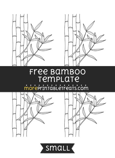 Free Bamboo Template - Small