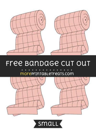 Free Bandage Cut Out - Small Size Printable