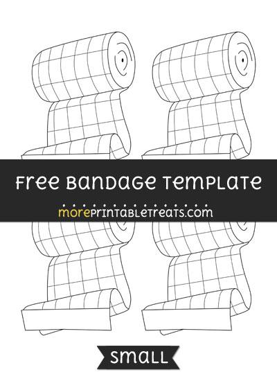 Free Bandage Template - Small