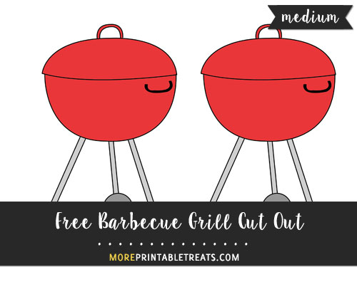 Free Barbecue Grill Cut Out - Medium