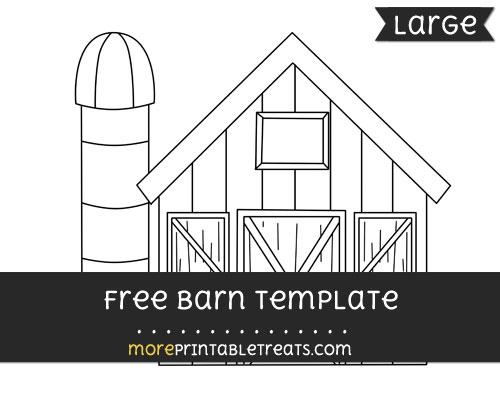 Free Barn Template - Large