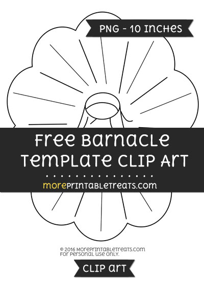 Free Barnacle Template - Clipart