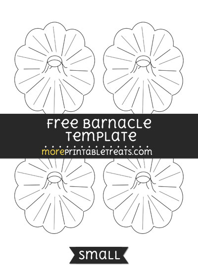 Free Barnacle Template - Small