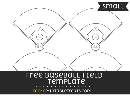 Free Baseball Field Template - Small