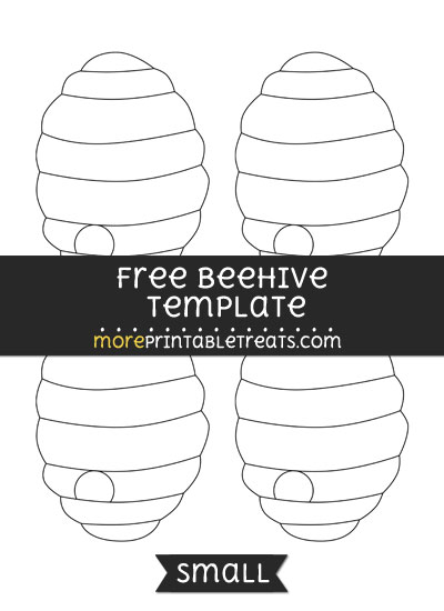 Free Beehive Template - Small