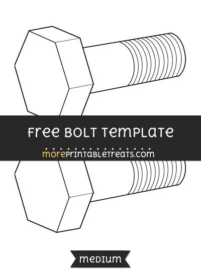 Free Bolt Template - Medium