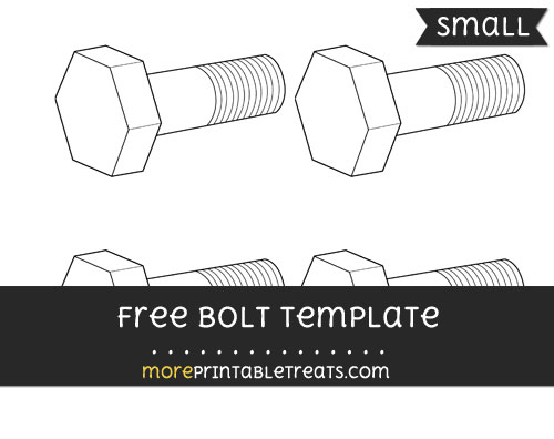 Free Bolt Template - Small