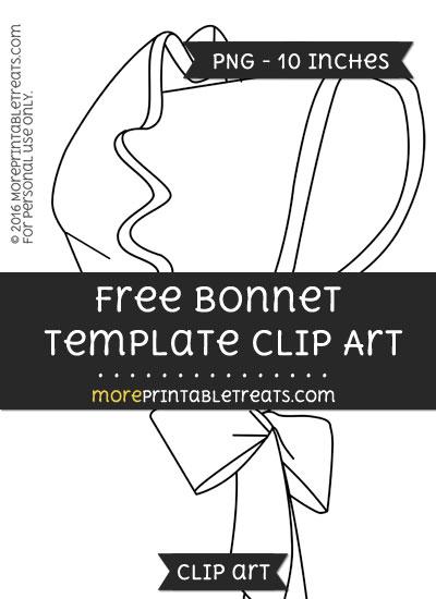 Free Bonnet Template - Clipart