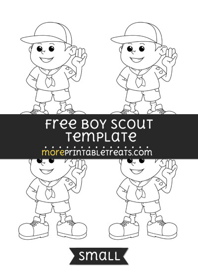 Free Boy Scout Template - Small