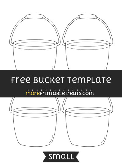 Free Bucket Template - Small