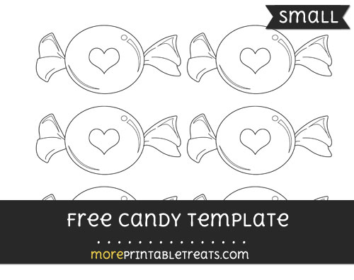 Free Candy Template - Small