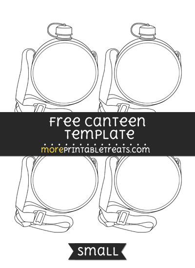 Free Canteen Template - Small