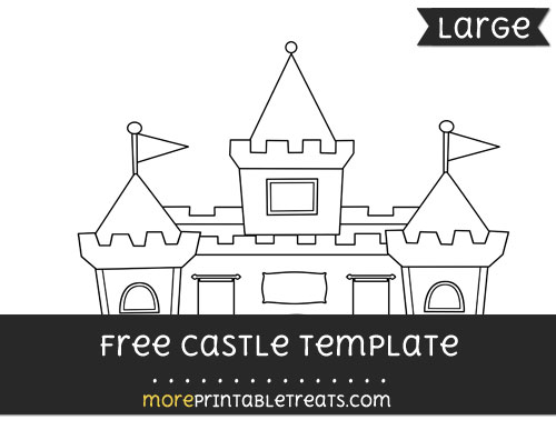 Free Castle Template - Large