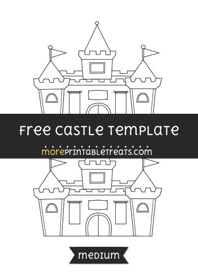 Free Castle Template - Medium