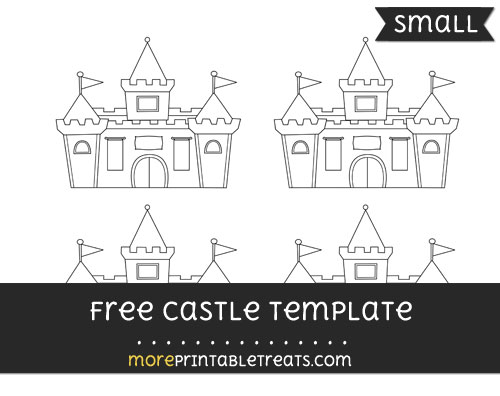 Free Castle Template - Small