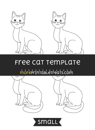 Free Cat Template - Small