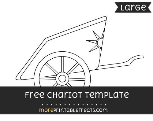 Free Chariot Template - Large
