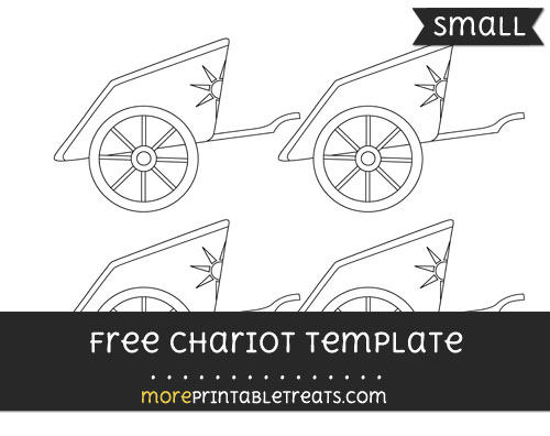 Free Chariot Template - Small