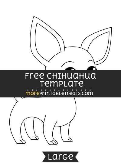 Free Chihuahua Template - Large