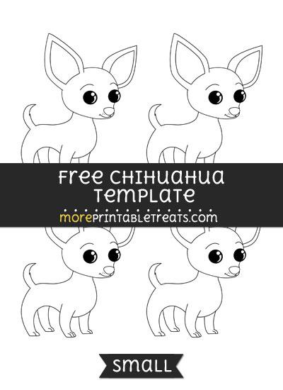 Free Chihuahua Template - Small