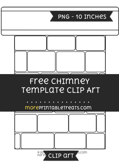 Free Chimney Template - Clipart