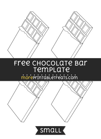 Free Chocolate Bar Template - Small