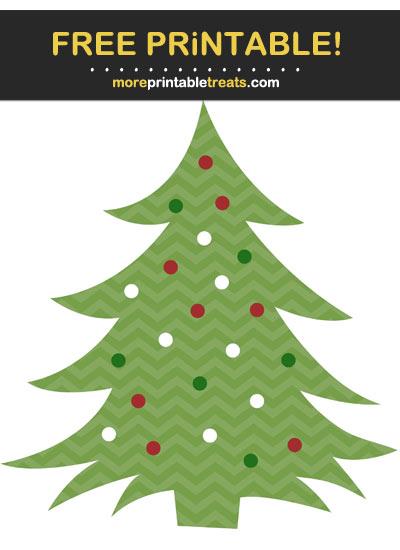 Free Printable Christmas Tree Cut Out