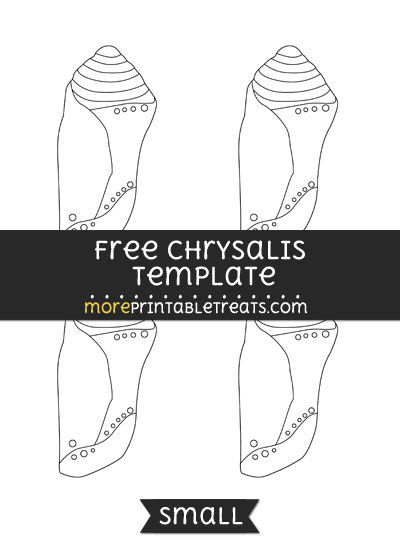 Free Chrysalis Template - Small