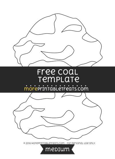 Free Coal Template - Medium