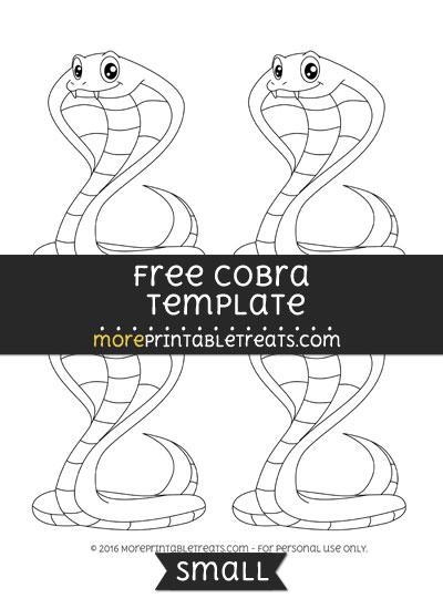 Free Cobra Template - Small