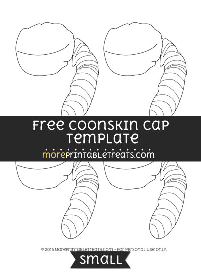 Free Coonskin Cap Template - Small