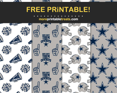 Free Dallas Cowboys Papers