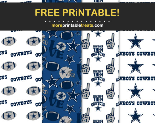 Free Dallas Cowboys Patterned Backgrounds