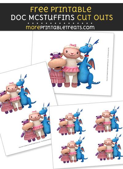 Free Doc McStuffins' Friends Cut Outs - Printable - Doc McStuffins