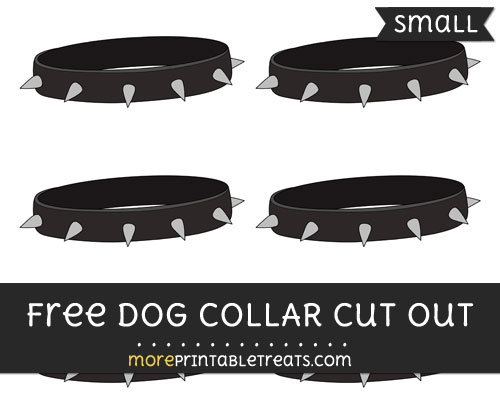 Free Dog Collar Cut Out - Small Size Printable