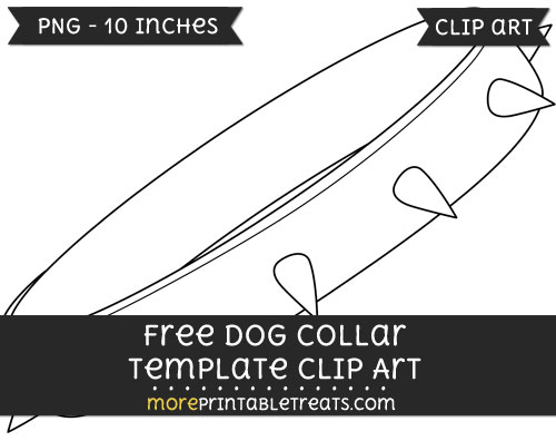 Free Dog Collar Template - Clipart