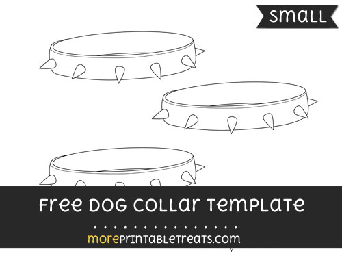 Free Dog Collar Template - Small