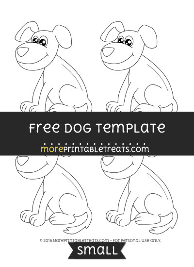 Free Dog Template - Small